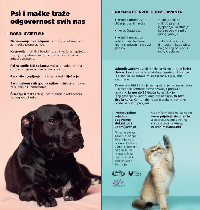 Psi i mačke traže odgovornost svih nas